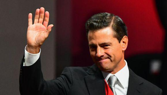 El expresidente de México, Enrique Peña Nieto, en una imagen del 3 de setiembre del 2018. (Foto: RONALDO SCHEMIDT / AFP).