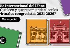Día del Libro: ¿Qué leen y qué recomiendan leer los virtuales congresistas?