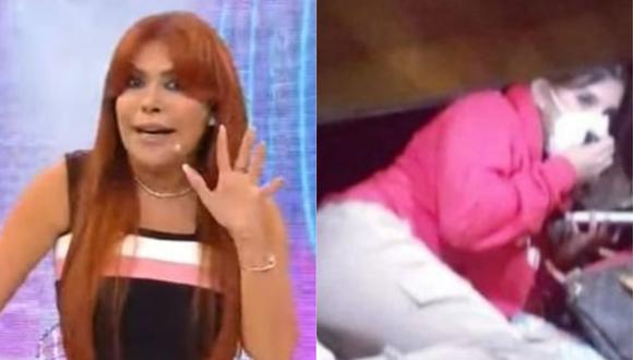 Magaly Medina criticó duramente a Yahaira Plasencia tras presentarse en la comisaría de Cieneguilla para recibir su multa. (Foto: Captura de video)
