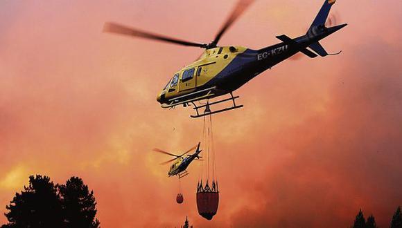 Chile y Colombia sí tienen planes contra incendios forestales