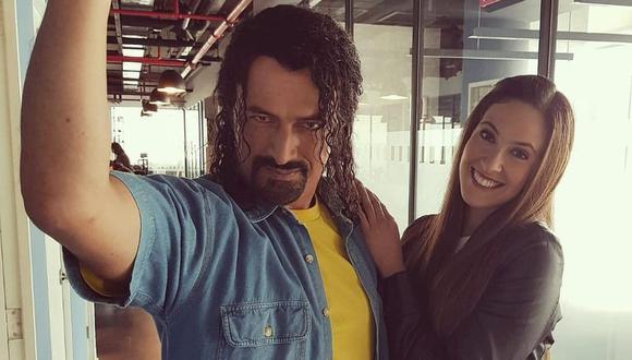 Los actores Carlos Alcántara y Emilia Drago comparten una fuerte amistad. (Foto: @emiliadrago)