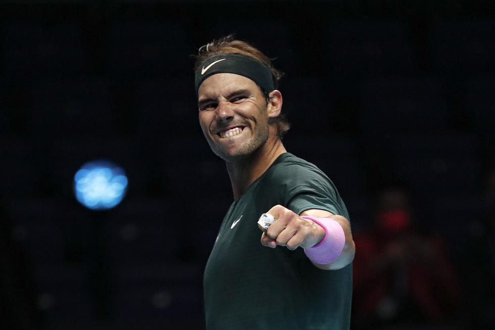 Rafael Nadal clasificó a semifinales del Masters de Londres