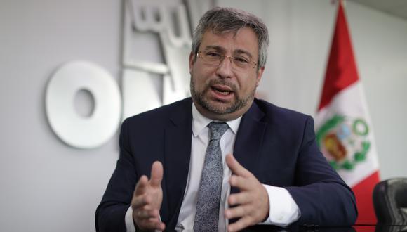 Piero Corvetto, jefe de la ONPE, indicó que los partidos políticos tienen hasta este jueves para elegir los medios de su preferencia para la franja electoral. (Foto: GEC)