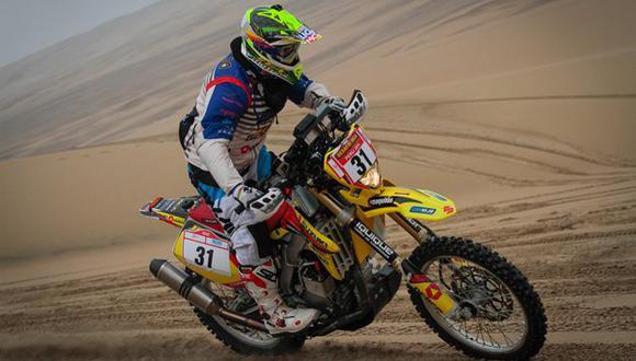 Cornejo dio la sorpresa en la categoría motos. (Fotos: Rodrigo de Quesada)