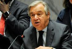 """ONU: Guterres pide un """"nuevo enfoque"""" para prevenir guerras"""