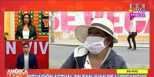 Coronavirus en Perú: ambulantes invaden las calles de San Juan de Lurigancho