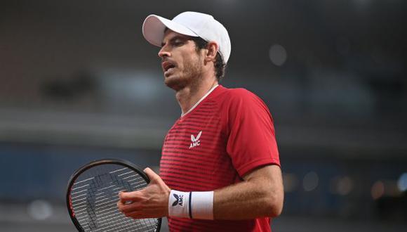 Andy Murray figura en el puesto 123 del ranking ATP. (Foto: AFP)