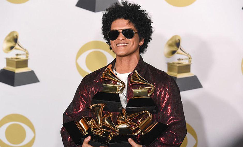 Bruno Mars enternece a seguidores con foto de su niñez. (AFP)