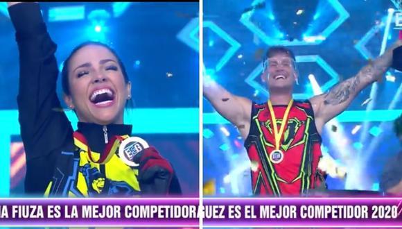 """""""Esto es guerra"""" empezó su final premiando a sus mejores competidores del 2020. (Foto: Captura América Televisión)."""