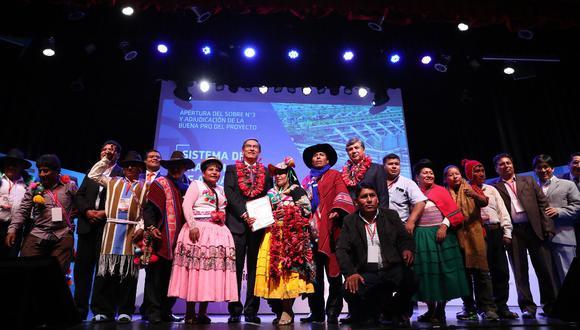 El proyecto PTAR Titicaca contribuirá a la reducción de enfermedades causadas por aguas residuales. (Foto: Andina)