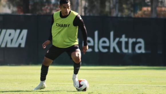 Anderson Santamaría analizó el momento de Atlas e hizo mea culpa por su indisciplina   FOTO: Prensa Atlas FC
