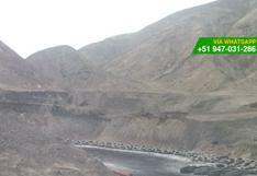 Alertan sobre quema de neumáticos al sur de Lima [FOTOS]