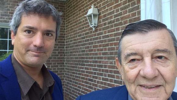Santiago Roncagliolo y su padre debatieron en el Hay Festival