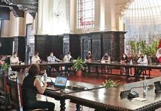 Gobierno brindó conferencia para informar sobre medidas aplicadas durante la pandemia
