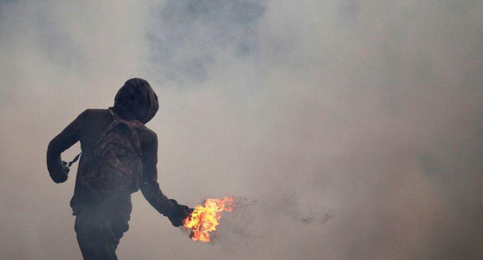 Venezuela: Duros enfrentamientos en calles de Caracas [FOTOS] - 28