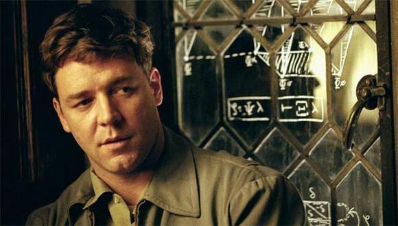 Russell Crowe conmocionado por muerte del matemático John Nash