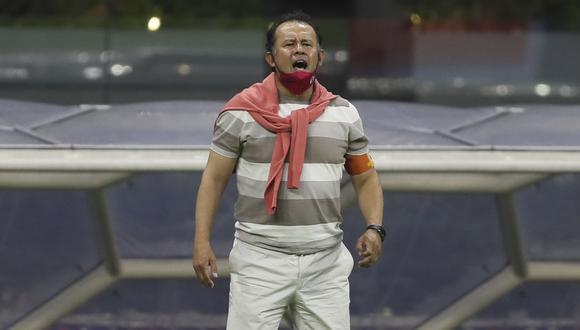 Juan Reynoso busca ser campeón como jugador y técnico de Cruz Azul. (Foto: AP)