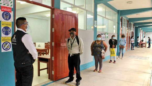 Las elecciones generales 2021 tienen protocolos establecidos por la ONPE para prevenir y evitar contagios.  (Foto: ONPE)