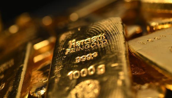 El precio del oro cerró con una caída de un 4,3% durante el mes de septiembre. (Foto: AFP)