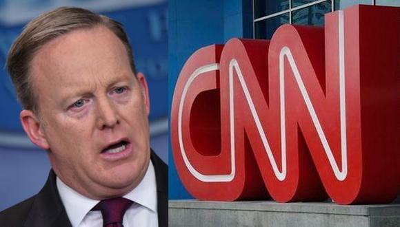 Casa Blanca veta a CNN y otros medios de conferencia de Spicer
