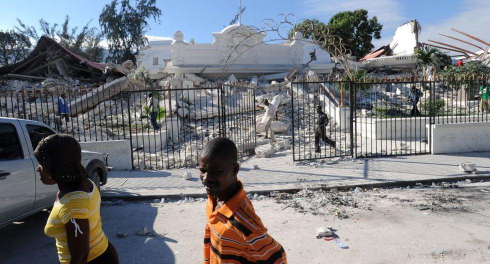 Palacio de Justicia en Puerto Príncipe destruido luego del devastador terremoto que sacudió a Haití. (Foto: Archivo/AFP).