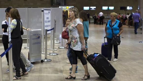 """Israel: """"Suspensión de vuelos es un premio al terrorismo"""""""