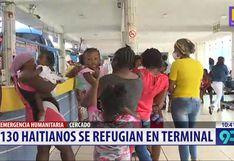 Lima: unos 130 haitianos viven hacinados en local tras quedarse varados por estado de emergencia