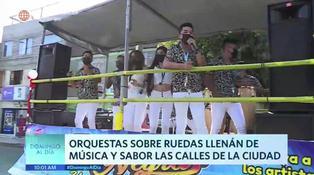 Coronavirus en Perú: orquestas rodantes sorprenden en Lima