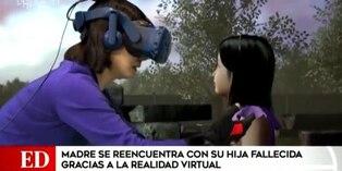 Youtube: una madre y su hija fallecida se reencuentran gracias a la realidad virtual