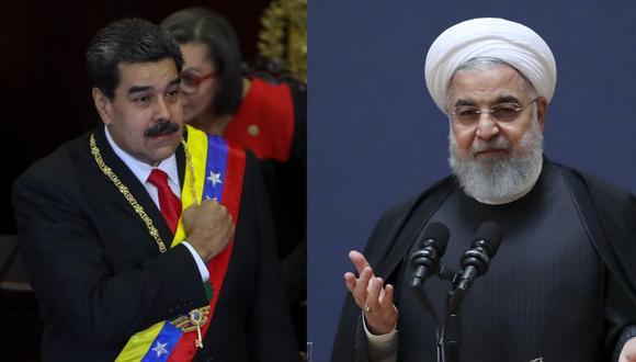 """Irán expresa apoyo a Nicolás Maduro ante """"las presiones de Washington"""". (EFE / AP)"""