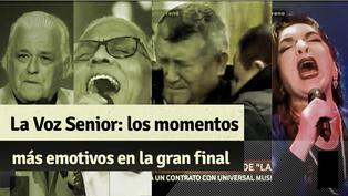 """Los momentos más emotivos en la gran final de la """"La Voz Senior"""" y el triunfo de Mito Plaza"""