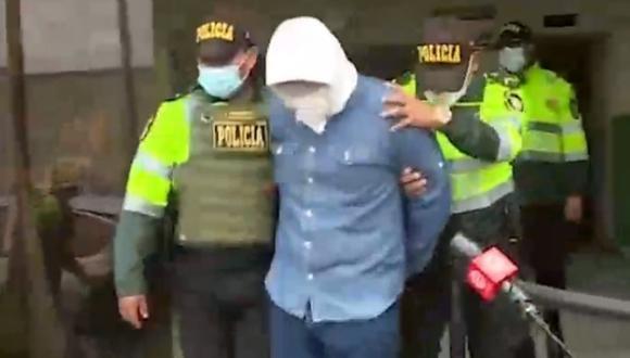 Suboficial de la Policía Nacional es acusado de ser el autor del crimen de vigilante de hostal en Lince. (Captura: América Noticias)