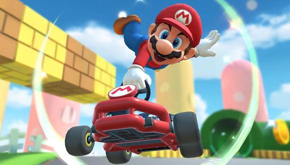 Mario Kart Tour es un videojuego de carreras para iOS y Android. (Difusión)