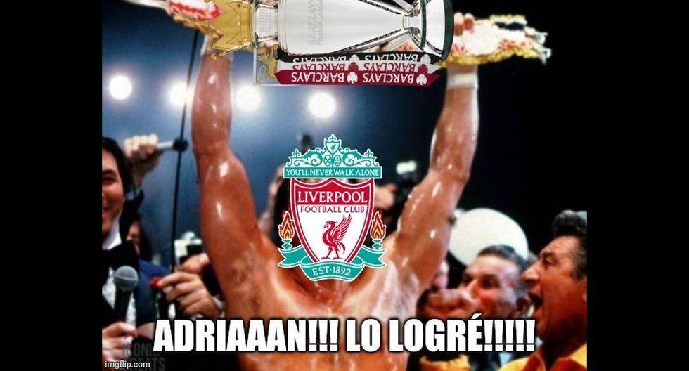 Los memes tras el título del Liverpool en la Premier League. (Foto: Facebook)