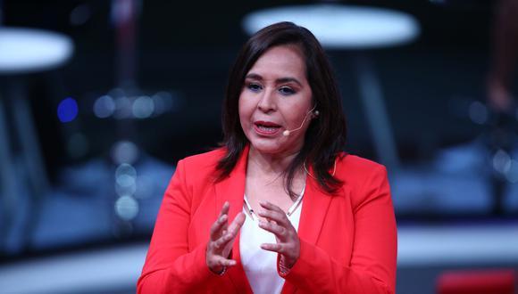 Nidia Vílchez encabeza la plancha presidencial del Partido Aprista de cara a las Elecciones Generales del 2021. (Foto: Andina)