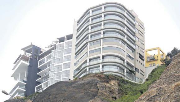Barranco legalizará invasión de edificio en acantilado