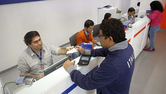 Toma de los horarios de atención del BCP, Interbank, BBVA, entre otros bancos del país durante la cuarentena focalizada.(Foto: GEC)