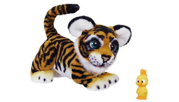 Rayler es el nuevo integrante de la familia de juguetes FurReal. Estos invitan al niño a interactuar constantemente con ellos. (Hasbro)