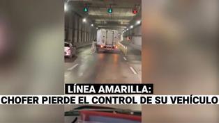 Camión sin chofer estuvo apunto de provocar un accidente en la Línea Amarilla