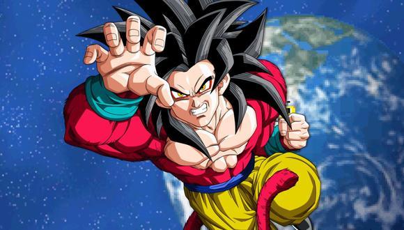 """Gokú se transformó en Super Saiyajin 4 en """"Dragon Ball GT"""", pero esta forma no se ha visto más en ninguna otra serie canon (Foto: Toei Animation)"""