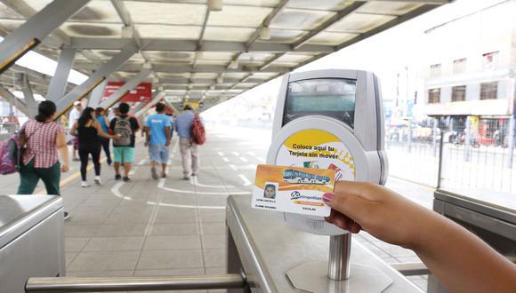Gobierno anuncia que continuará la implementación del sistema de pago con tarjeta única en el transporte de Lima y Callao. (Foto: Archivo/GEC)