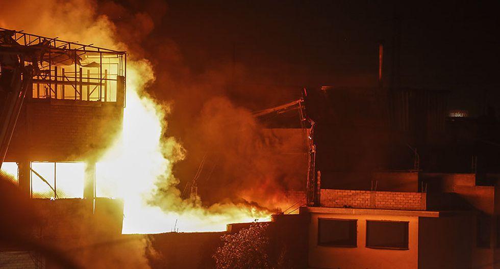 El Agustino: la tragedia que cobró vida de 3 bomberos [FOTOS] - 8