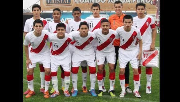 Perú ya tiene rivales para el Sudamericano Sub 17 de 2015