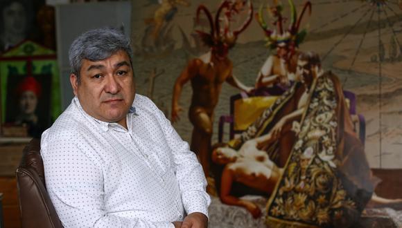 Mario Mogrovejo, profesor de la Escuela Nacional Superior Autónoma de Bellas Artes, consultor de InSEA y coordinador del Congreso Internacional de Educación Artística. FOTO: Alessandro Currarino / El Comercio