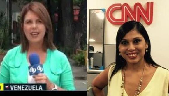 Venezuela: Dos periodistas son detenidas en plena transmisión en vivo por el Sebin. (Twitter personal)