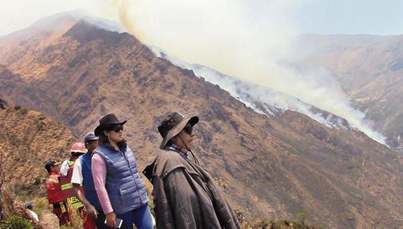Incendios forestales: 11 activos y 3 áreas protegidas afectadas