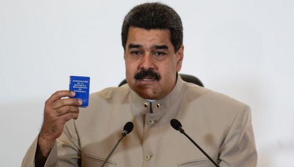 Maduro advierte a opositores de juicios en tribunales militares