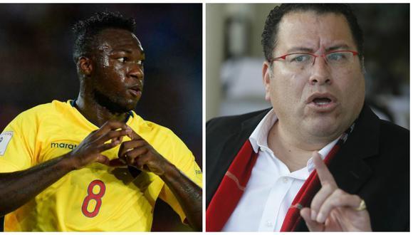 Felipe Caicedo, luego de unos días, decidió demandar al periodista por sus declaraciones racistas. Aquí, todo lo que sucedió desde que Butters hizo las polémicas declaraciones. (Foto: AFP / El Comercio)
