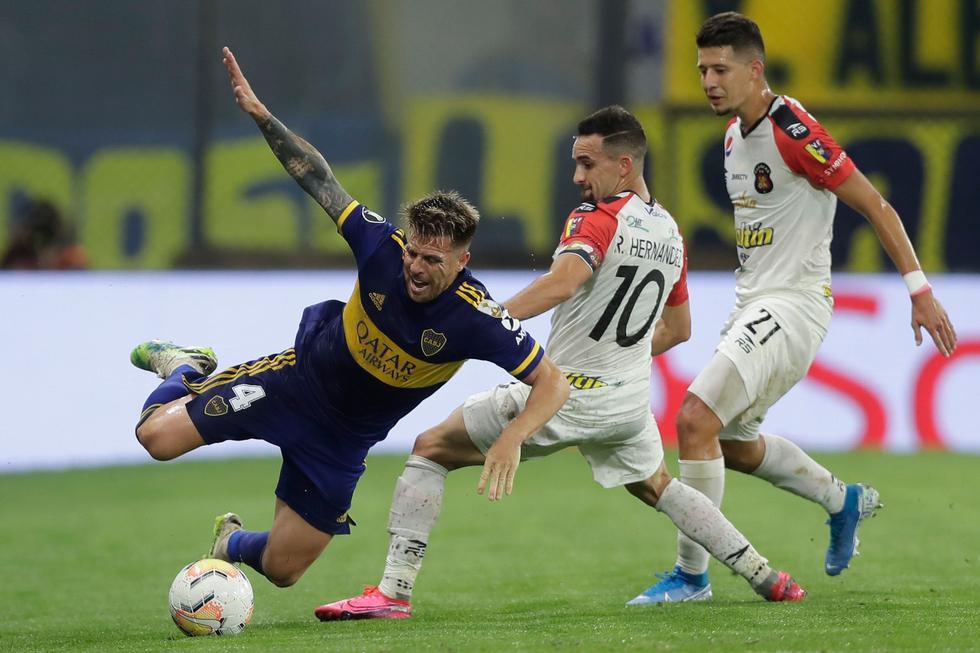 Boca Juniors vs Caracas FC: Copa Libertadores. (Foto: AFP)