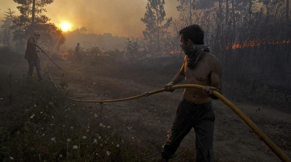 Portugal: Alarma por incendio forestal en plena ola de calor - 6